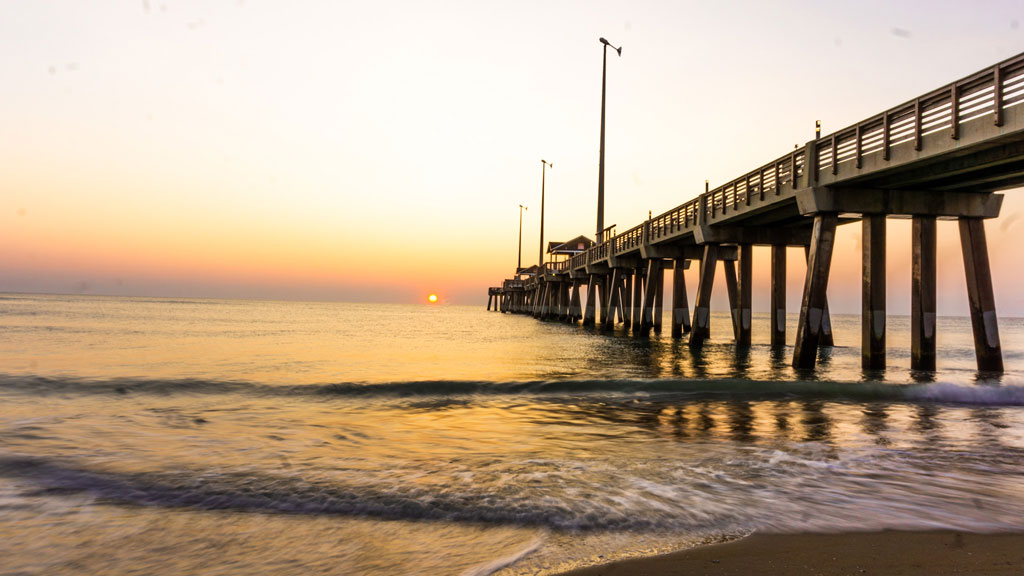 Jeanette's Pier at the Outer Banks, North Carolina